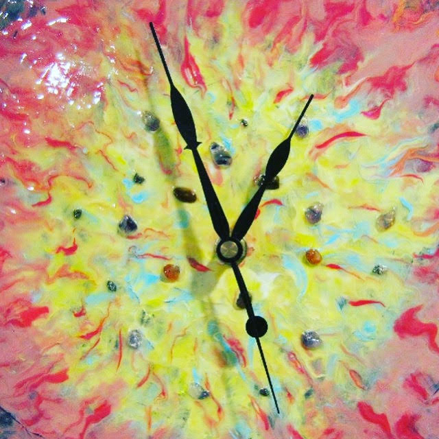 A picture of a clock.